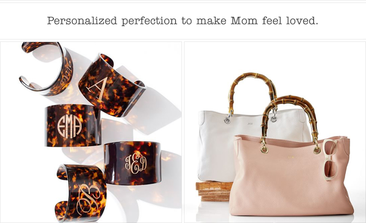 Personalized perfection to make Mom feel loved.