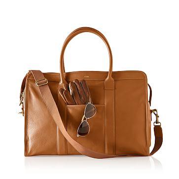 Graham Weekender Bag, Camel