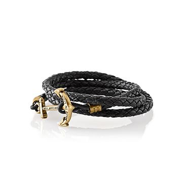 Quartermaster Bracelet, Medium, Black