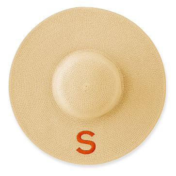 Wide Brim Straw Hat, Natural, Medium and Large