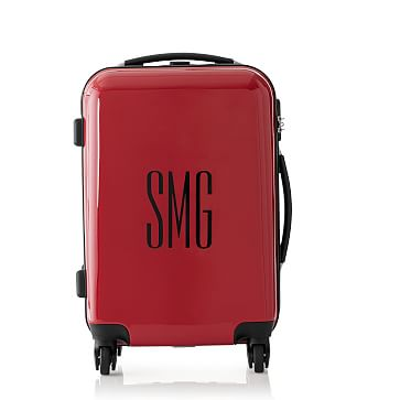 Carry-On Spinner Luggage, 22 inches, Red