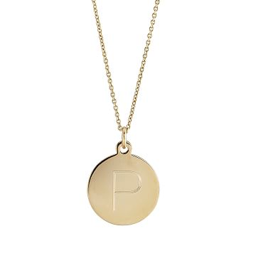 Sophia Medallion Necklace, 16