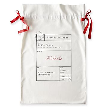 Santa Sack, Santa Delivery, Natural