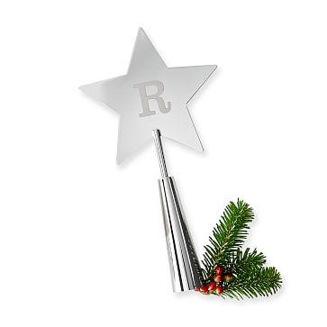 Tree Topper, Star, Silver Finish