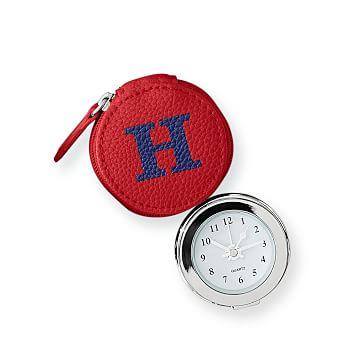 Travel Alarm Clock, Red