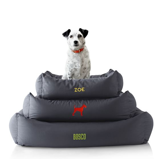 comfortable custom dog bed