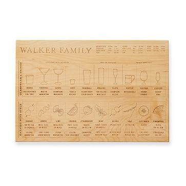 Bartender's Prep Board, Natural