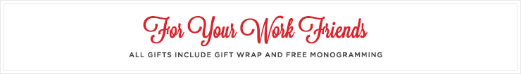 Free Monogramming + Free Gift Wrap: What's Not to Love?