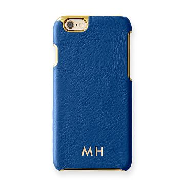 Vivid Leather iPhone 6 Case, Cobalt