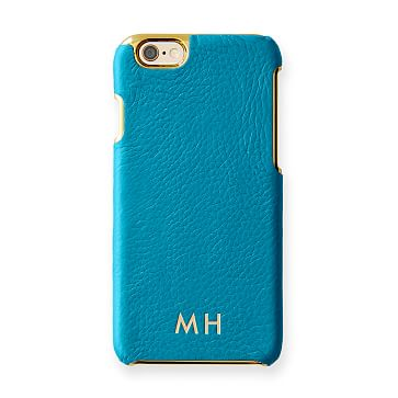Vivid Leather iPhone 6 Case, Turquoise