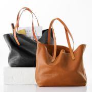 Sleek + slouchy: our Brooklyn Tote.