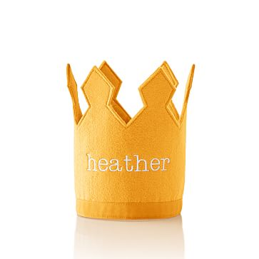 Kid's Birthday Crown, Yellow