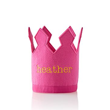 Kid's Birthday Crown, Pink