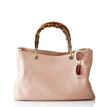 Bamboo Elisabetta Slouch Handbag, Blush