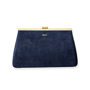 Park Avenue Clutch, Navy