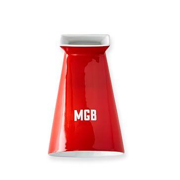 Ceramic iPhone Speaker, Red