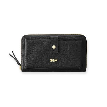 The Daily Wallet, Leather, Black