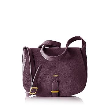 Daily Saddle Bag, Plum