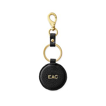 The Daily Key Fob, Leather, Black