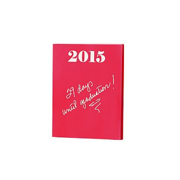 Ultra-Bright Notepad, Small, Red