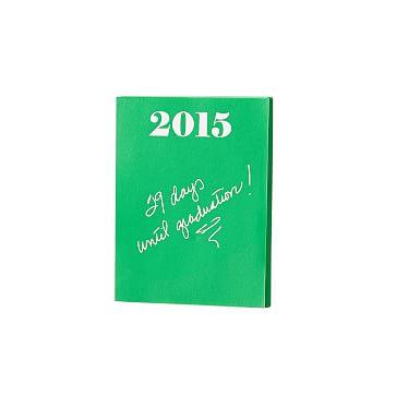Ultra-Bright Notepad, Small, Kelly Green