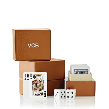 Mini Playing Cards, Small, Camel