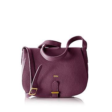 Daily Saddle Bag, Plum