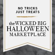 The wicked big Halloween Marketplace. Seven exclusive shoppes with everything you need for a season of pumpkins, parties and potions. Pottery Barn, Pottery Barn Kids, PBTeen, West Elm, Williams-Sonoma, Mark and Graham, Rejuvenation.