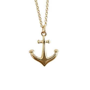 Anchor Hope & Protect Necklace, 16-18