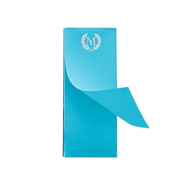 Ultra-Bright Notepad, Skinny, Turquoise