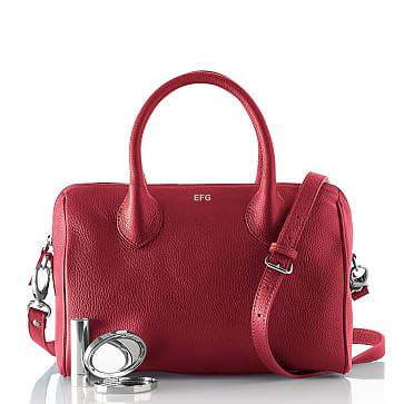 Daniela Doctor's Handbag, Crossbody, Small, Crimson