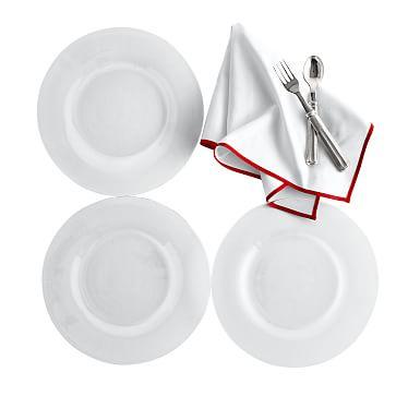 Typographer's Glass Dinner Plate