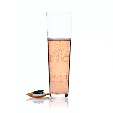 Set of 2 Stemless Champagne Flutes