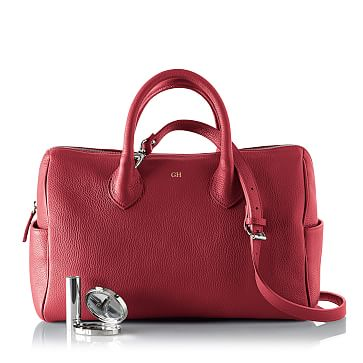 Daniela Doctor's Handbag, Large, Crimson