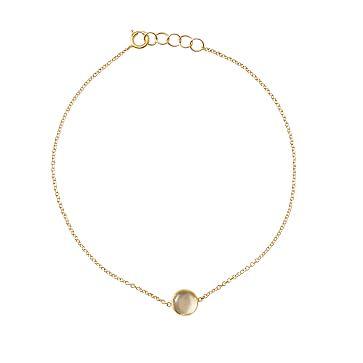 Ariel Gordon Semi-Precious Stone and 14 Karat Gold Bracelet, Quartz