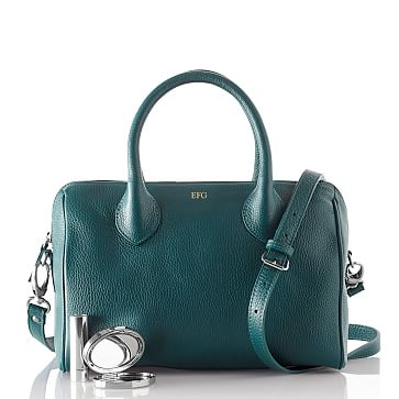 Daniela Doctor's Handbag, Crossbody, Small, Teal