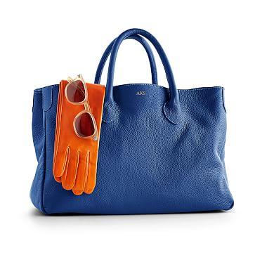 The Elisabetta Slouch Handbag, Cobalt