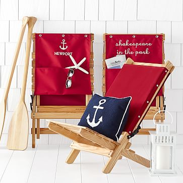 Ashwood Travel Chair, Personalized, Red