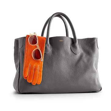 The Elisabetta Slouch Handbag, Fog