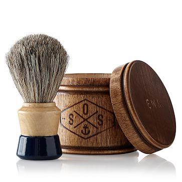 Shaving Bristol and Soap Set