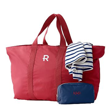 The Club Overnighter Bag, Red