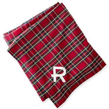 Plaid Tablecloth, Red Preppy Plaid