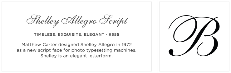 Style 555 - Shelley Allegro