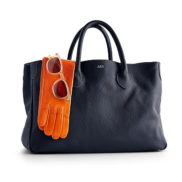 The Elisabetta Slouch Handbag, Navy