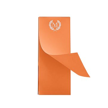 Ultra-Bright Notepad, Skinny, Orange