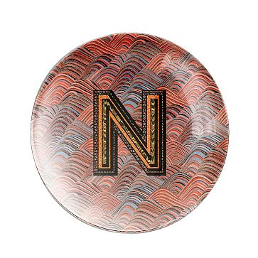 Alphachrome Glass Paperweight, N