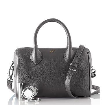 Daniela Doctor's Handbag, Crossbody, Small, Fog
