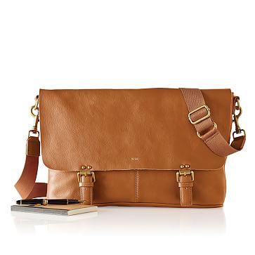 Graham Messenger Bag, Camel