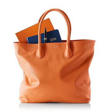 Elisabetta Boardroom Bag, Tangerine