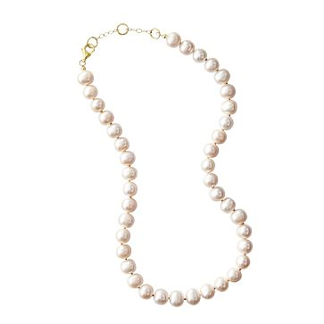 Classic Pearl Necklace, 16-18